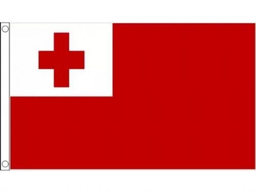 Large Tonga Flag  5 x 3 Premium quality Rugby free UK 1st Class deliver